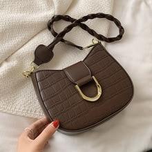 High-quality Casual Ladies Stone Pattern Underarm Bag 2021 New One-shoulder Handbags Korean Style One-shoulder Messenger Bag