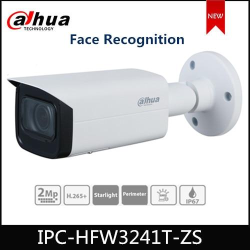 Dahua 2MP Bullet IP Camera IPC-HFW3241T-ZS Lite AI IR 60m Vari-focal 2.7 Mm~13.5 Mm Lens With Face Recognition Cam