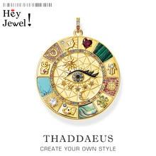 Pendentif amulette symboles porte-bonheur magiques, bijoux d'été Vintage en argent Sterling 2020 pur, puissant cadeau pour femmes et hommes, 925