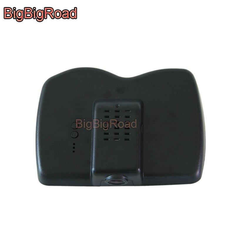 Bigbigroad wifi carro dvr condução gravador de vídeo câmera traço cam para jeep cherokee 2014 2015 2016 2017 alta configuração fhd1080p