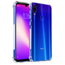 Luxury Shockproof Silicone Phone Case For Xiaomi Redmi Note 7 8 6 5 Pro A2 A3 lite 7A k20 Pro mi 9t se Cases protective For Xiomi Redmi Note 7 Pro Transparent Protection Back Cove on Redmi Note 8 Pro