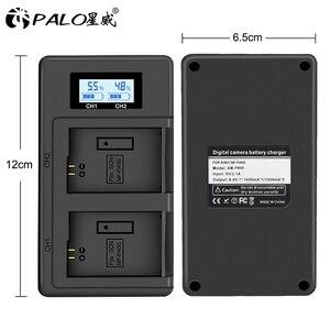 Image 5 - パロNP FW50 カメラバッテリー充電器npfw50 fw50 液晶usbデュアル充電器ソニーA6000 5100 a3000 a35 A55 a7s iiアルファ 55 アルファ 7 を