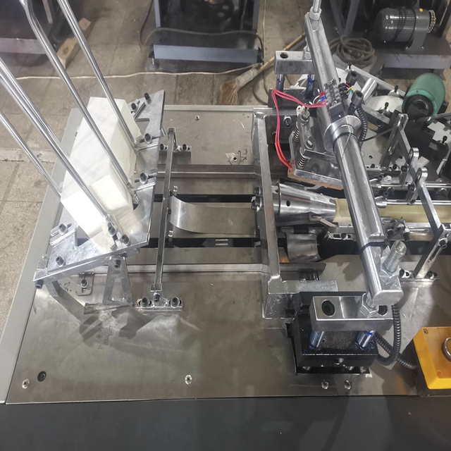 Ultrasonic Heater Open Cam Single Plate Middle Speed Paper Cup Machine - ماكينة تصنيع الاقداح الورقية 4