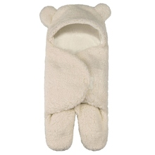 Baby Warm Cartoon Cover Knitting Sleep Bag Wool Felt Soft And Comfortable 65 * 71cm