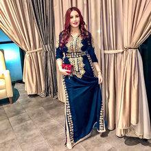 Smileven morocco caftan вечерние платья с разрезом по бокам