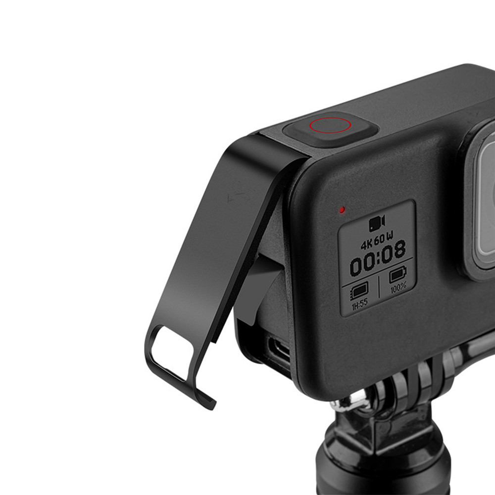 Replacement Rechargeable Side Cover Case Battery Lid Door Cover For GoPro Hero Black 8 Action Camera Accessories