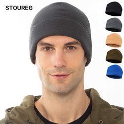 Winter Fleece Warm Hiking Caps Men Thermal Tactical Outdoor Caps Sport Cycling Ski Caps Men Hunting Fishing Hats
