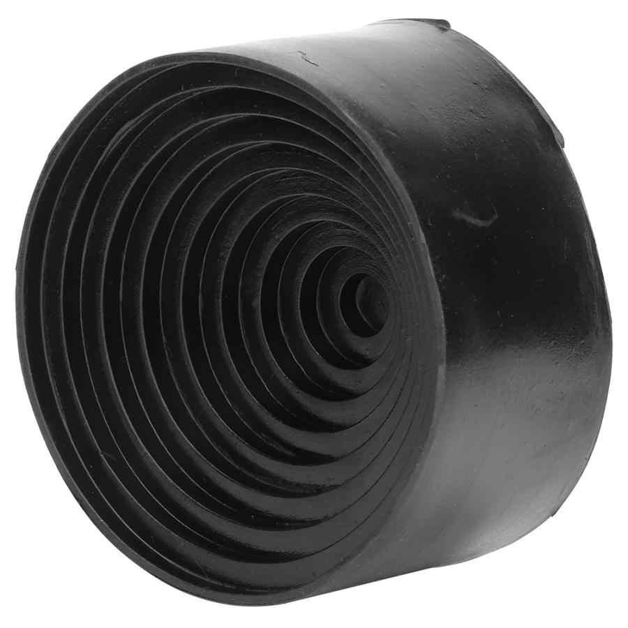 Średnica 90mm/3.54in laboratorium kolby stojak czarny okrągłe pręty z gumy kolby bazy wsparcia