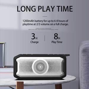 Image 4 - 방수 블루투스 스피커 휴대용베이스 서브 우퍼 야외 USB 스피커 Fm 라디오 AUX TF 미니 음악 붐 박스 라우드 스피커 오르골 블루투스스피커