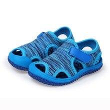 Fashion Children Sandals Summer Kids Baby Girls Boy Non-slip Outdoor Sneakers Soft Sole Hook Beach Sandals Kids Sandals Girls