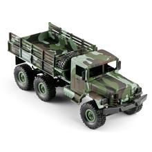 Four Channel Truck Children Remote Control LED Lights Off-road Vehicle Simulation Shockproof Camouflage Model RC Car Gift Kids