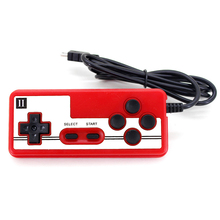 Mini USB Wired Handheld Gamepad Controller Game Console Handle Joystick For Coolboy For Subor Homing Gaming Toys Christmas Gifts