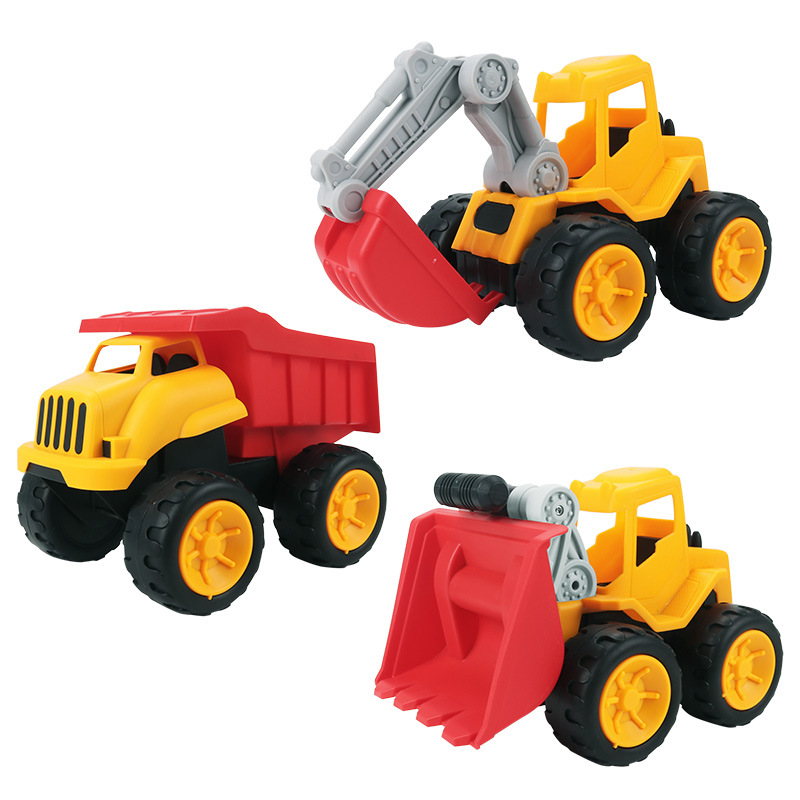 Construction Truck ATV Large Detachable Excavator Multifunction Children's Toys Outdoor Play House Water Play Sand Toys Boy