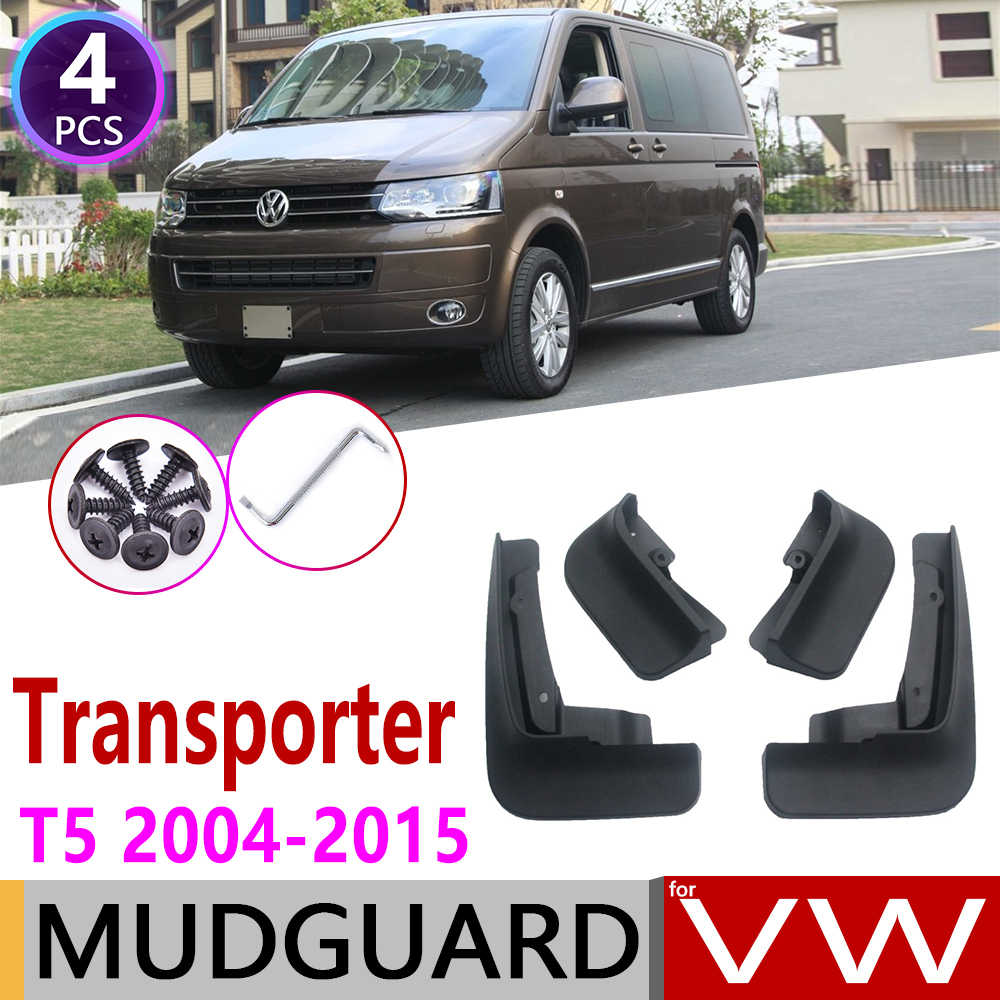 Mudflap for Volkswagen VW Transporter T5 Caravelle Multivan 2004~2015 Fender Mud Guard Mudguard Splash Flap Mudguard Accessories