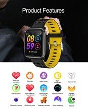P11 умные спортивные часы, монитор сердечного ритма, измерение кровяного давления P68, водонепроницаемые плавательные часы для IOS и Android