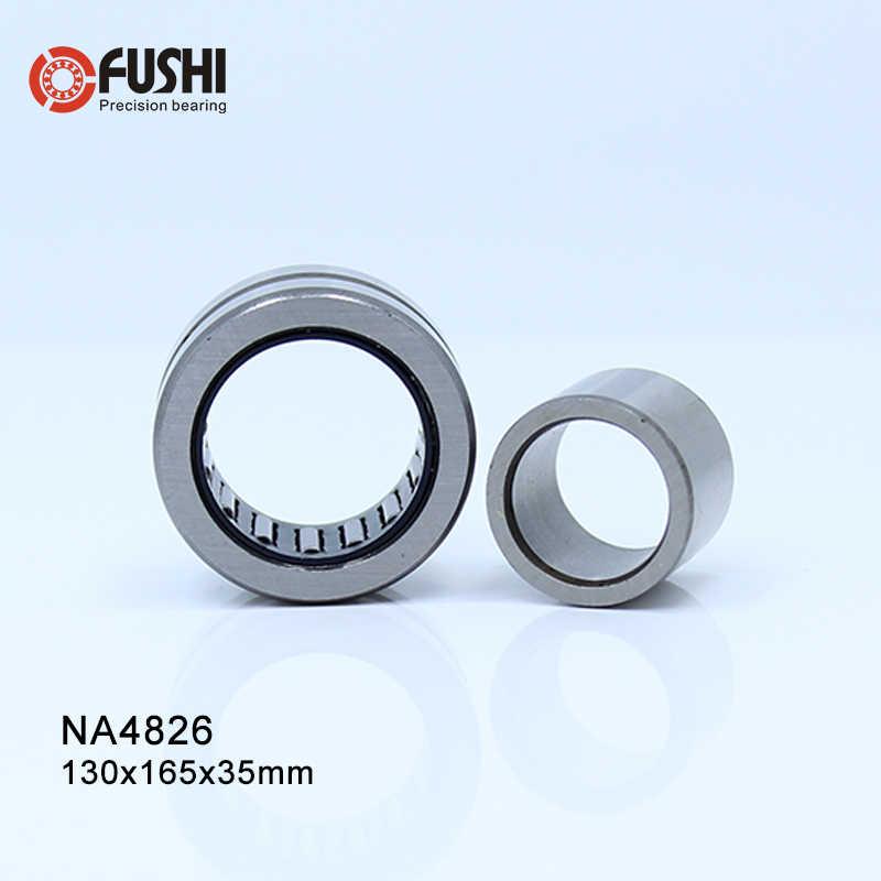 Rolamento 130*165*35 NA4826 mm (1 PC) collar sólidos Rolamentos de Rolos de Agulhas Com Anel Interno 4524826 4544826/UM Rolamento