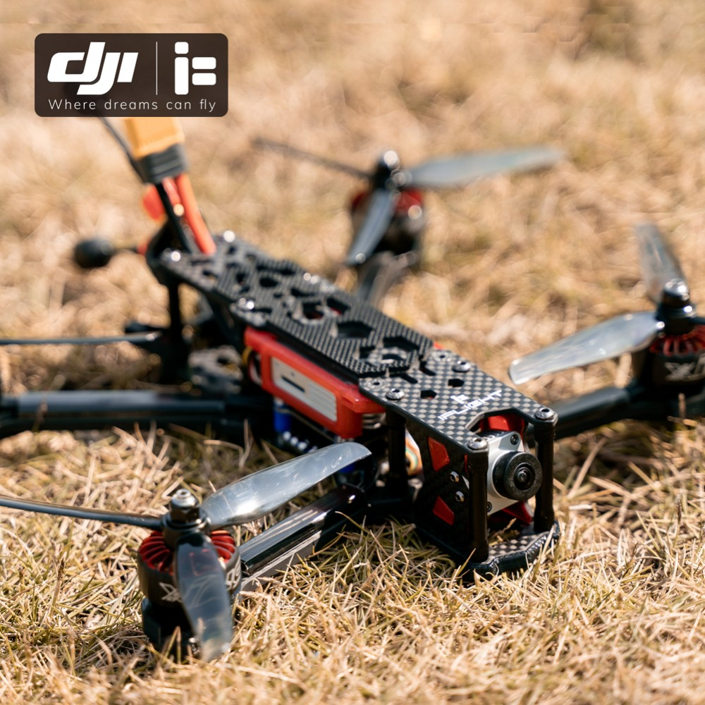 IFlight TITAN DC5 5inch 4s/6s HD FPV Racer Drone BNF With SucceX-D F7 50A BLHeli32 4-in-1 ESC Stack/XING-E2207 2450/1800KV Motor