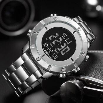 KADEMAN Male Military Sports Watches Electronic Mens Waterproof LED Digital Top Brand Luxury Clock Men Watch Relogio Masculino
