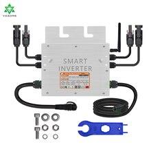 700 Вт IP65 PV солнечный сетевой микро инвертор умный микроинвертор вход 24 в 36 В постоянного тока выход 110 В 220 В переменного тока для сетевой сист...