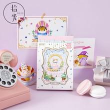 Letter Postcard Paper Greeting-Cards Rabbit-Park Birthday DIY Cartoon 30pcs/Set