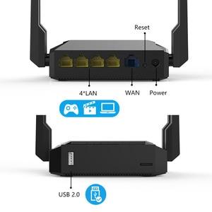 Image 3 - WE3826 Omni II firmware Senza Fili WiFi Router per USB 3G 4G modem omni 2 4 antenne 300Mbps 4 Anttenas Inglese Firmware
