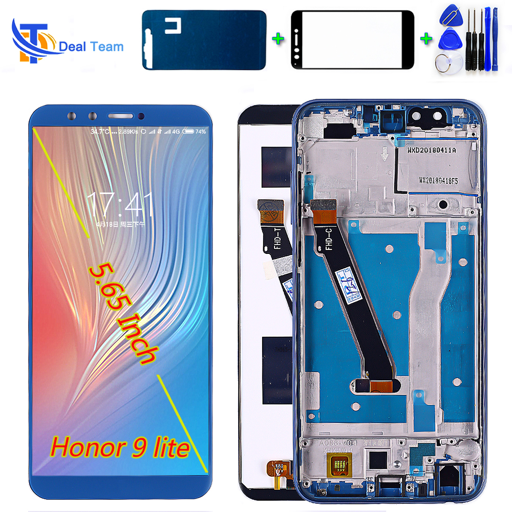 Deal Team LCD Display For Huawei Honor 9 Lite 5.65 Inch Touch Screen For Honor 9 Youth Digitizer Assembly Frame Free Tools