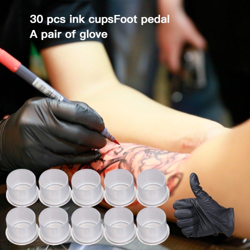 Kit complet de tatouage débutant ensemble moteur stylo Machine USA pistolet aiguilles d'alimentation - 6