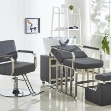 Barbershop Chair Chair-Lift-Shampoo Beauty Salon Hair-Cutting Web-Celebrity Stainless-Steel