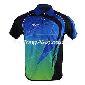 TSP футболка для настольного тенниса/футболки для мужчин/женщин 83105 для бадминтона TSP одежда для пинг-понга Джерси для игр на настольном тенни...