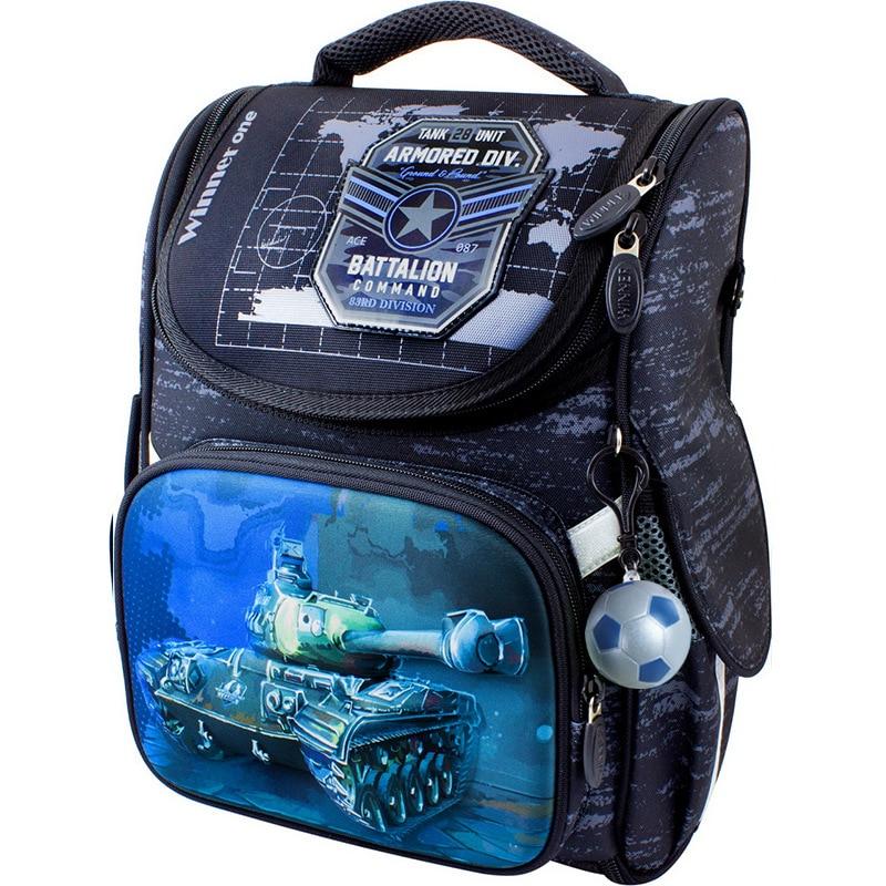 Winner One School Bag For Boys School Backpacks 3D Cartoon Knapsack Children Backpack Primary School Bags Kids Satchels Book Bag