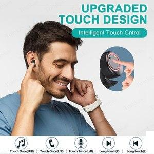 Image 2 - سماعة أذن لاسلكية تومكاس 4000mAh TWS تعمل بالبلوتوث 5.0 شاشة عرض قوية تعمل باللمس التحكم في الرياضة 9D سماعات أذن لاسلكية ستيريو