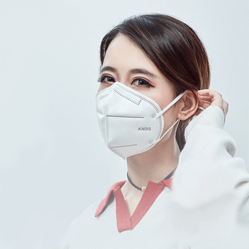 10pcs KN95 Face Mask 4 Layers Non-woven PM2.5 Anti-fog Strong Protective Mouth Mask Respirator Reusable Antibacterial Mask