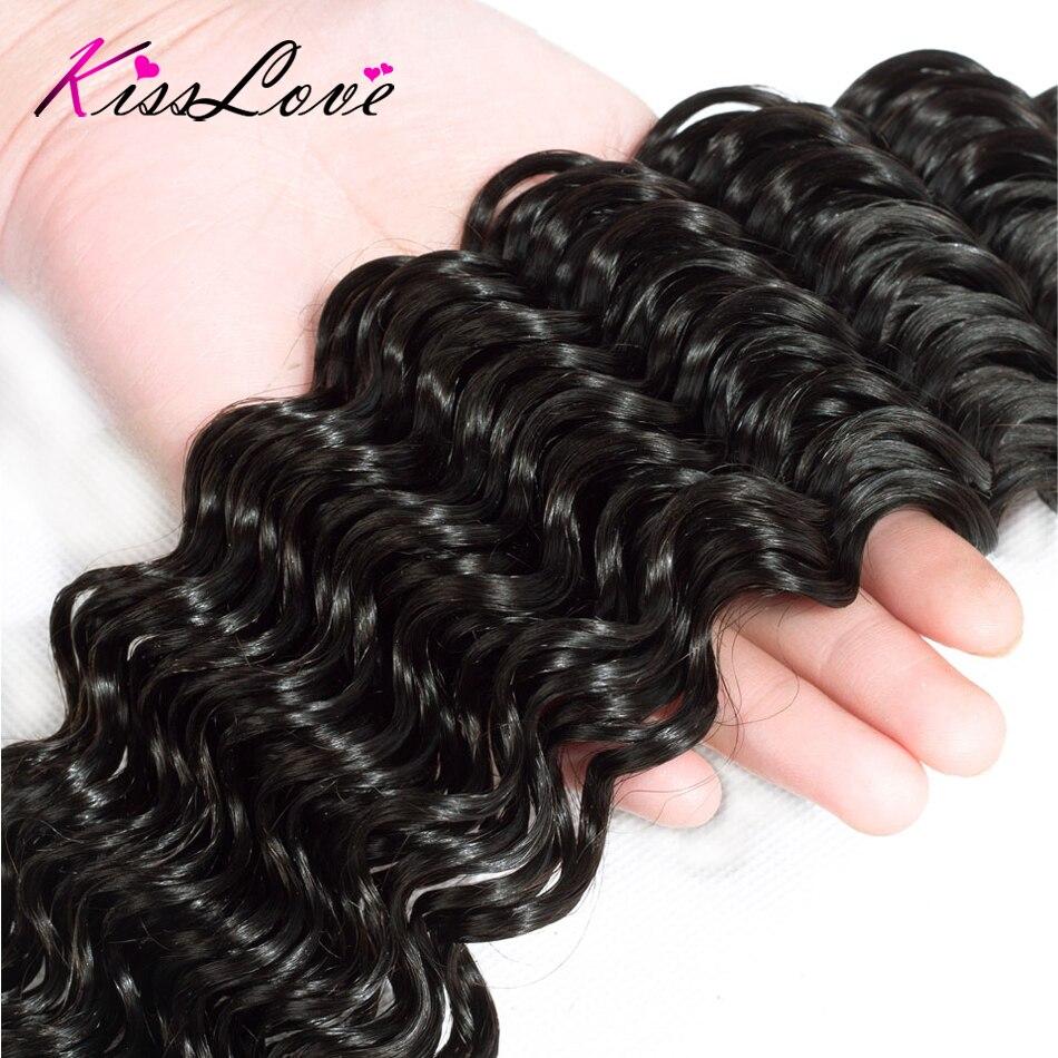 H453fd71f56864ff7b979f31bd331577eE Kiss Love Brazilian Hair Deep Wave Bundles With Closure Human Hair Weave Bundles With Closure 3 Bundles With Lace Closure