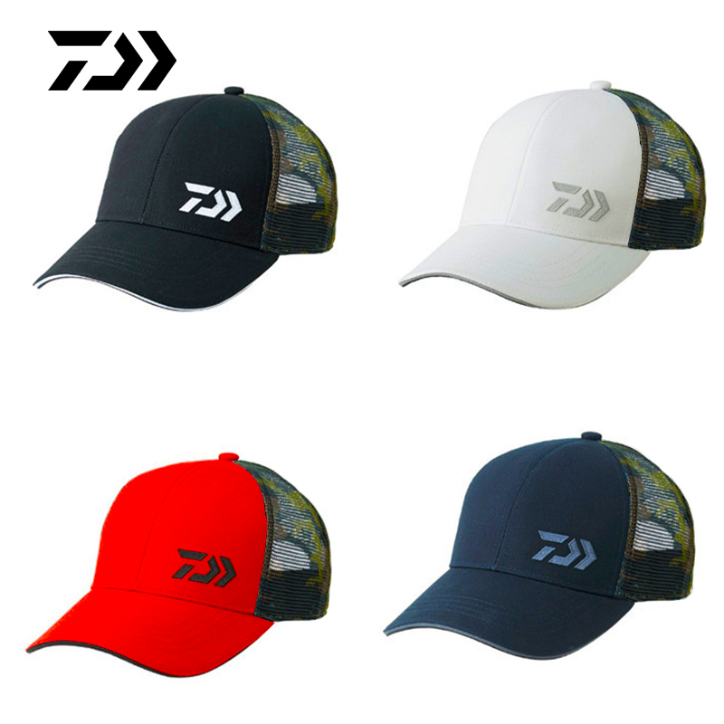 Fishing Hats Summer Sunshade Anti-UV Sun Protection Hats Breathable Adjustable Outdoor Running Hiking Sports Golf Mesh Cap