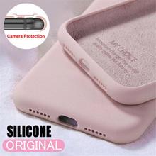 Miękkie cieczy silikonowe etui do Samsung Galaxy S21 S20 S10 S8 S9 Plus A51 A71 A50 A70 A31 A21s A10 A20 A30 A50s pokrywa tanie tanio EOENKK CN (pochodzenie) Częściowo przysłonięte etui Liquid Silicone Candy Case For Samsung Zwykły Soft Protective Back Cases