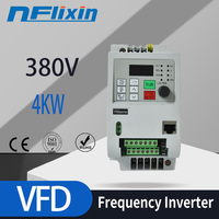 AC 380V 2.2KW three phase output VFD Frequency Converter for motor speed 50HZ 60HZ Adjustable frequency inverter