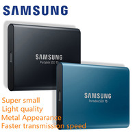 Samsung T5 Ssd Hdd 1tb 2tb Portable Top Original External Hd Drive Usb 3.1 For Desktop Laptop Pc External Hard Drive