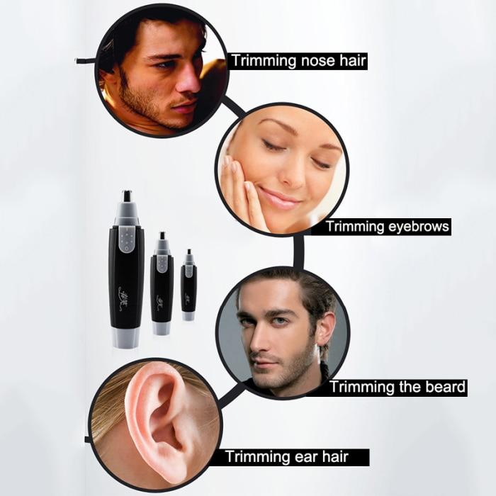 Novo nariz orelha rosto ferramenta de remoção