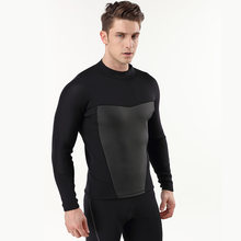 Jacket Phenovo 3MM Warm Neoprene Long Sleeve Wetsuit for Men Jacket Top Surf Scuba Diving Swimming Snorkeling(China)