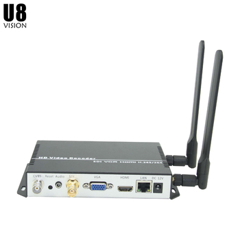 U8Vision H.265/H.264 Wireless SDI Decoder for Network Streaming Decode like RTMP/RTSP/UDP/HTTP