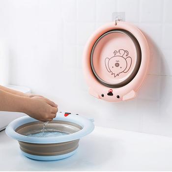 Składane umywalki dla dzieci umywalki dla dzieci przenośne umywalki do mycia stóp wiadro do czyszczenia narzędzi gospodarstwa domowego produkty łazienkowe tanie i dobre opinie LISHEN 32cm2 26 28 30 32 34 36 38 40 44 48 50 Z tworzywa sztucznego Portable Basins-EJNX04661 30cm Ekologiczne Zaopatrzony