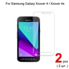 מזג זכוכית עבור Samsung Galaxy Xcover 4 G390F G390W Xcover 4S G398F מגן זכוכית מסך מגן