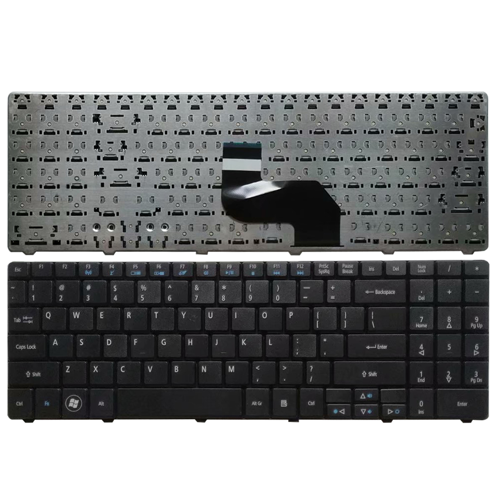 US Laptop Keyboard For Acer Aspire 5517 5332 5532 5534 5732 5732Z 5732ZG 7713 7715 MP-08G63SU-528 English Black