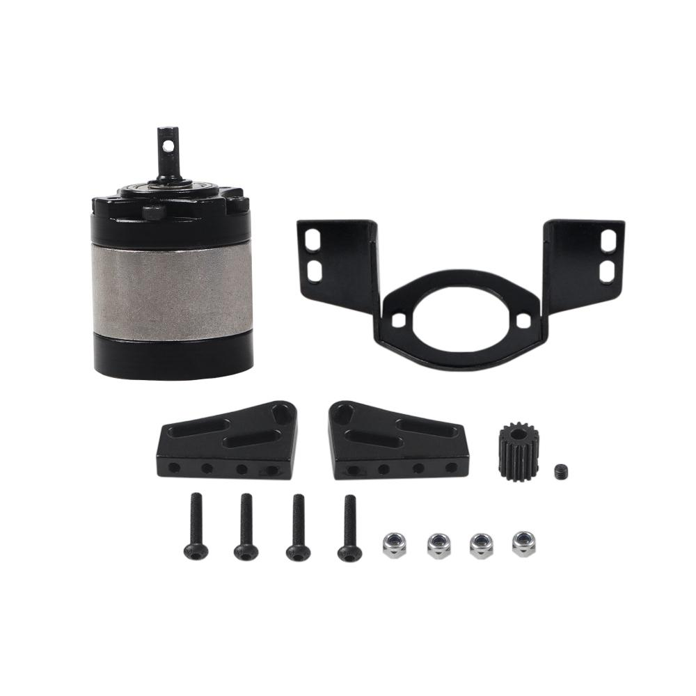RCtown RC Metal Gearbox 1/5 Planetary Gear Box for 1/10 RC Crawler D90 D110 for Axial RC Cars Accessories