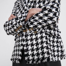 Houndstooth Double Breasted Blazers RK