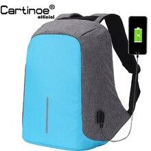 15.6 inç dizüstü sırt çantası MacBook Pro 15 için Anti hırsızlık 17.3 inç Laptop çantası sırt çantası erkek/kadın Oxford su geçirmez defter çantası