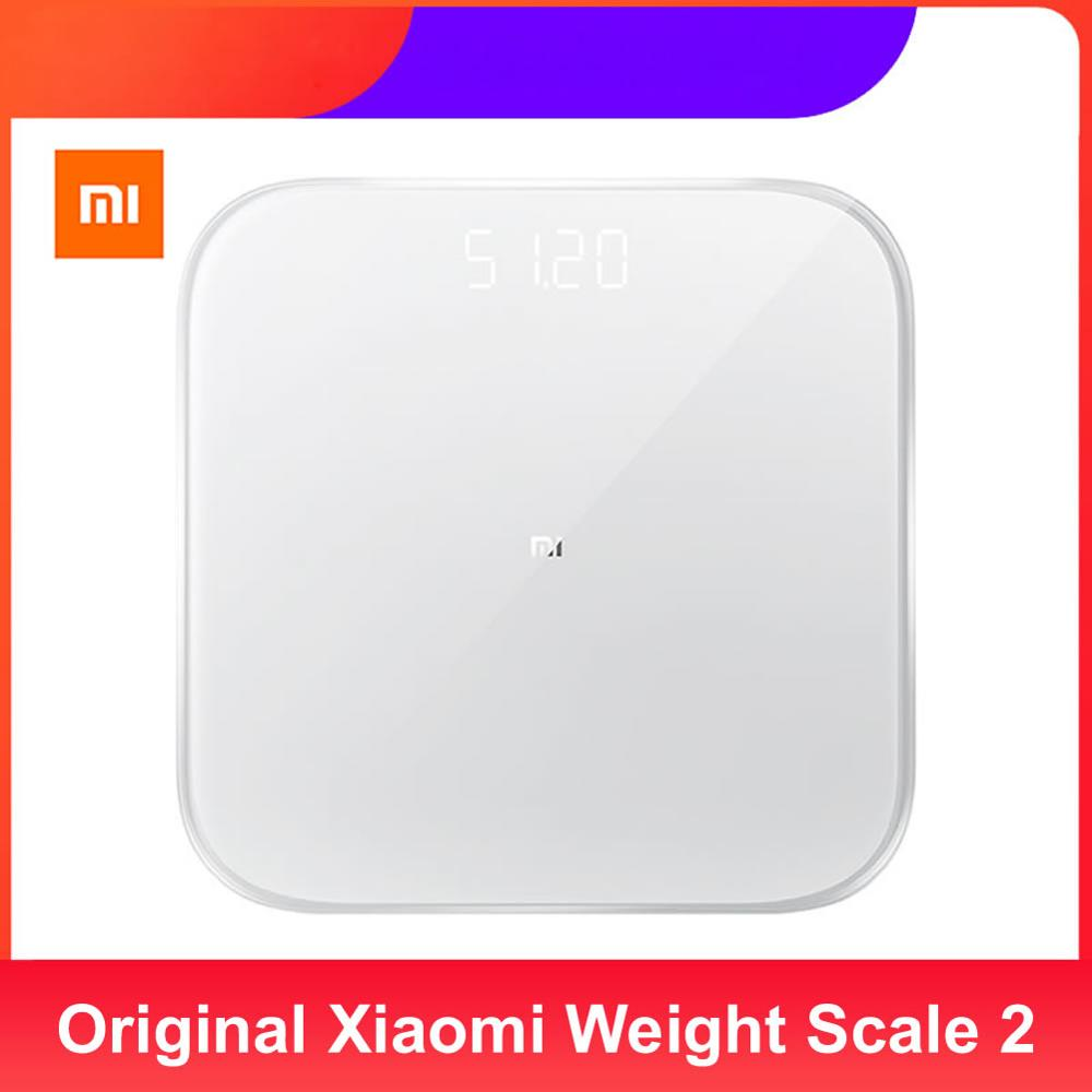 Xiaomi Scale Xiaomi-Weight-Scale Work Mifit-App Digital Bluetooth Home 2 with Original