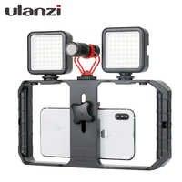Ulanzi U-Rig Pro Smartphone Video Rig Mobile Vlogging Filmausrüstung Stabilisator mit 1/4 Schraube Kalt Schuh Halterung für iPhone xiaomi