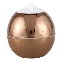 Nowy 130Ml Usb Mini ultradźwiękowy nawilżacz powietrza dyfuzory olejku aromaterapeutycznego dyfuzor nawilżacz dla Home Office w Nawilżacze powietrza od AGD na