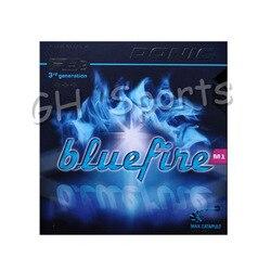 Donic Original azul fuego M1/M2/M3 Bluefire Pips-En esponja azul Tenis de Mesa goma fuerte espinillas en ping pong de goma